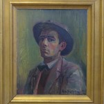 36. Självporträtt med hatt (54x65)