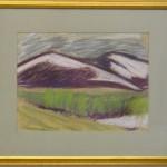 118. Fjällmotiv-akvarell (57x50) 500:-