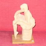 Statyett-terrakotta