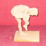 Statyett i terrakotta