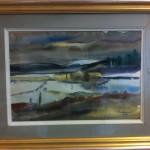 Fjälllandskap Akvarell 52x41 (inköp juli-12)