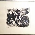 Fallna änglar (-60) Linoleumsnitt